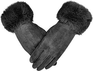 Winter Touch Screen Gloves Fleece Touchscreen Cotton Gloves Windproof Warm Winter Accessories for Women
