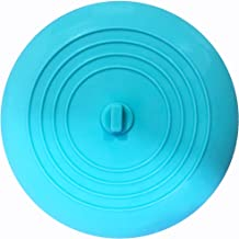 Meshatty Silicone Tub Stopper, Premium Bathtub Drain Stopper, One of The Best Sealing Sink Stopper, Upgraded Drain Plug for Kitchens, Bathrooms and Laundries Light Blue