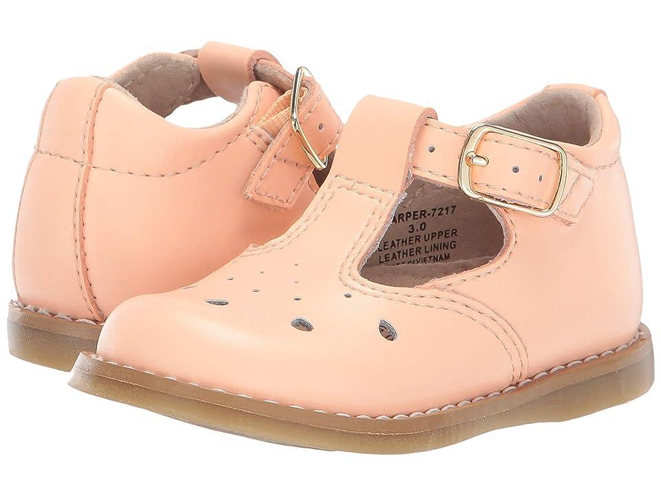 FootMates Harper (Infant/Toddler/Little Kid) (Creamsicle) Girls Shoes