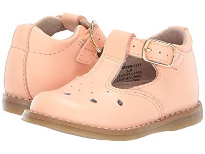FootMates Harper (Infant/Toddler/Little Kid) (Creamsicle) Girls Shoes