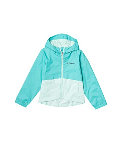 Columbia Kids Rain-Zillatm Jacket (Little Kids/Big Kids) (Dolphin/Sea Ice) Girl