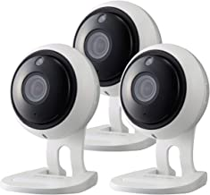 Samsung Wisenet SNH-V6431BN SmartCam 1080p Full HD Wi-Fi Indoor IP Camera Three Pack (Renewed)