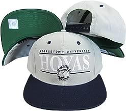 Georgetown Bulldogs Grey/Navy Two Tone Snapback Adjustable Plastic Snap Back Hat/Cap