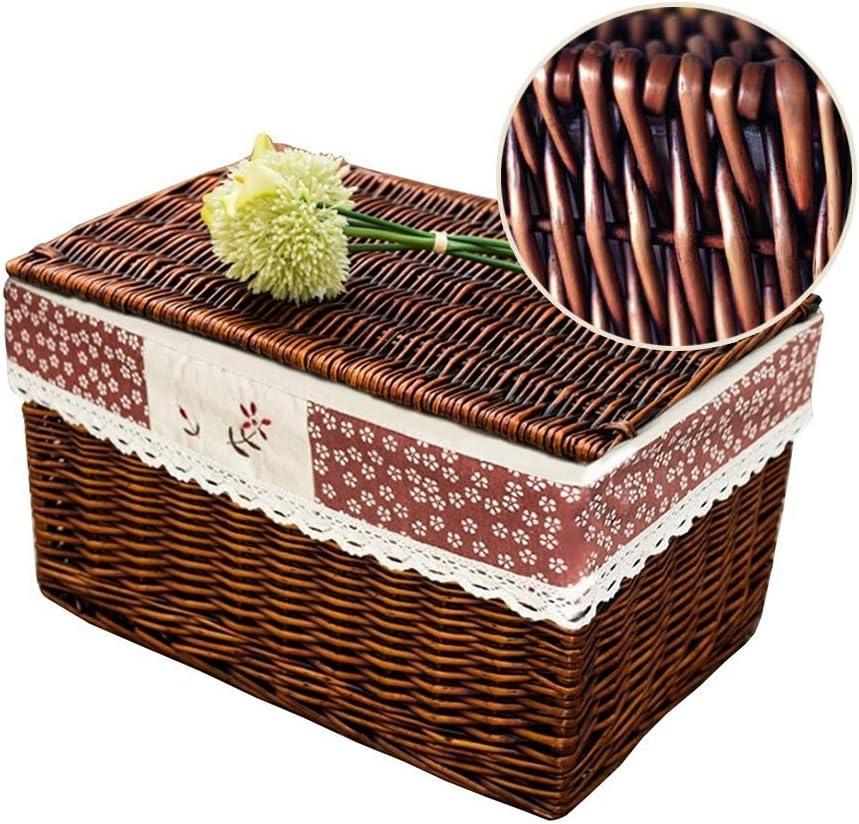 MAHFEI-Storage Max Ranking TOP6 64% OFF Baskets Woven Basket Box Clothes Storage