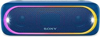 (Renewed) Sony SRSXB30/BLUE Portable Wireless Speaker with Bluetooth, Blue