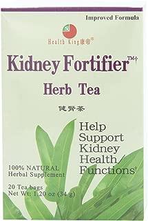 Health King Kidney Fortifier Herb Tea, Teabags, 20 Count Box