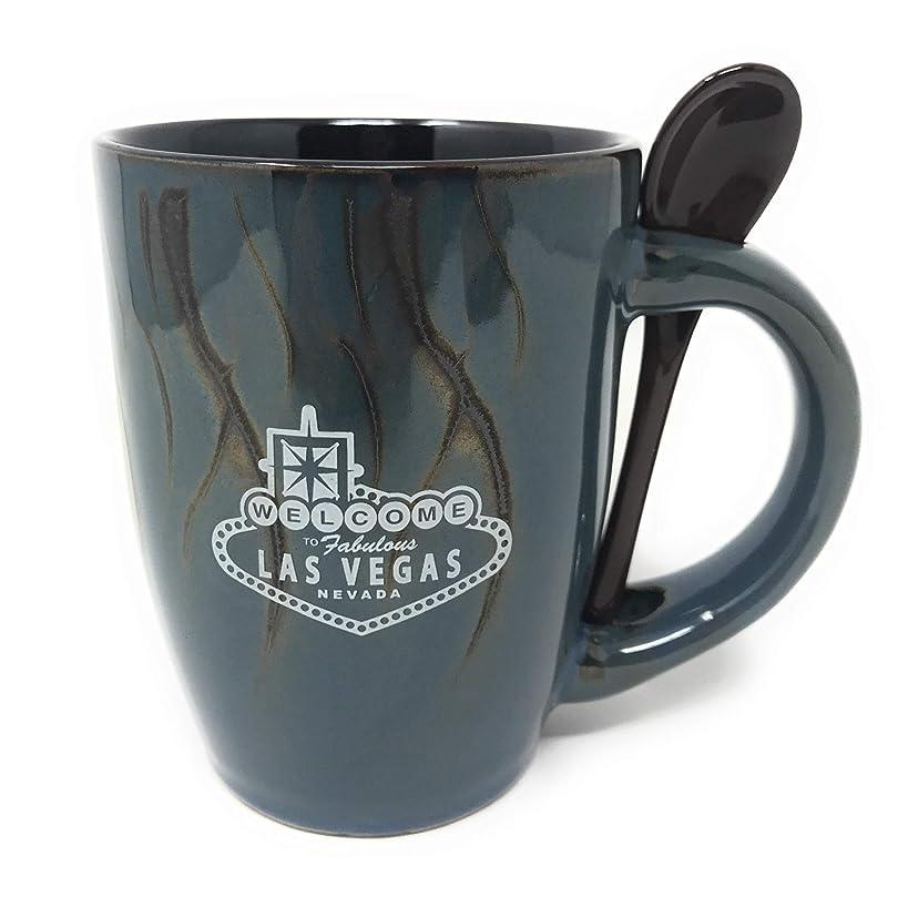 Las Vegas souvenir soup mug with spoon