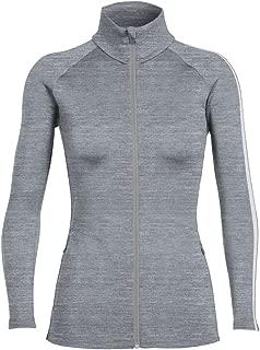 Icebreaker Merino Women's Affinity Long Sleeve Zip Sweater Top,   Merino Wool