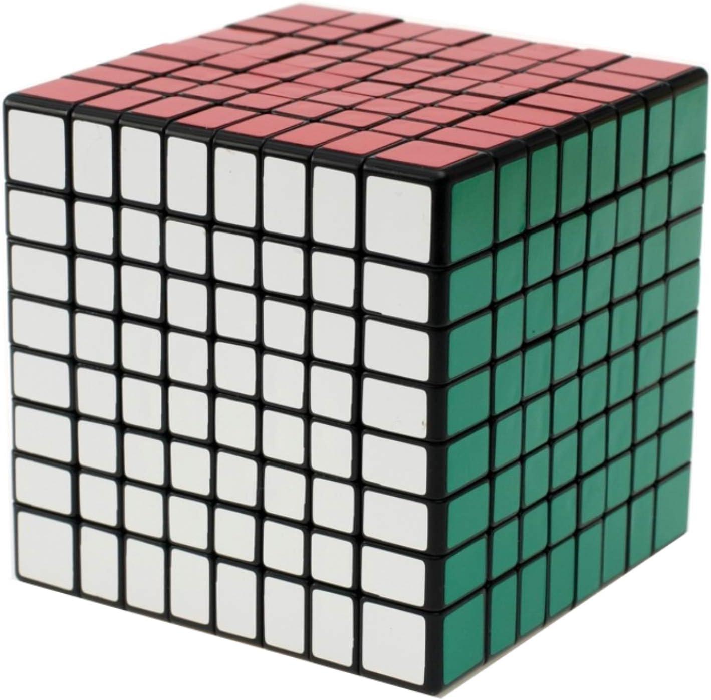 ShengShou8x8x8 8cm Black Atlanta New popularity Mall Twisty Cube 8x8 Speed Puzzle