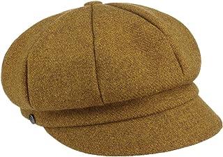 Lierys Berretto Newsboy Shetland Wool Donna - Made in Italy Cappellino da Berretti con Visiera Cappello Baker Boy Visiera,...