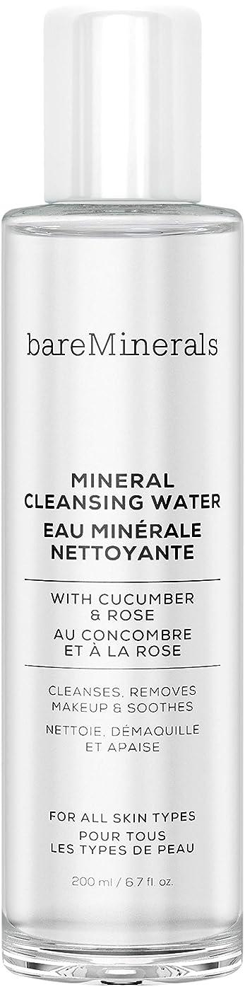 バケット取るトランジスタベアミネラル Mineral Cleansing Water with Cucumber & Rose 200ml/6.7oz並行輸入品