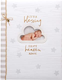 """C.R. Gibson Little Blessing Baby Memory Book for Newborns, 64 pgs, 8 3/4"""" x 11 1/4"""""""
