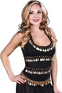 belly dance halter top