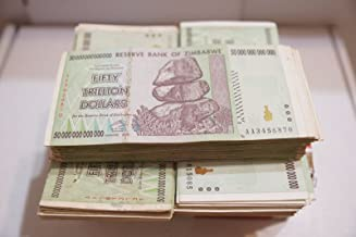 10 Trillion Zimbabwe AA 2008