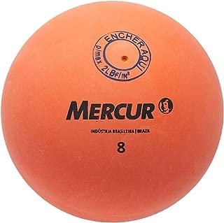 Bola de Borracha N.08 com Válvula, Mercur B1404080001-06, Vermelho