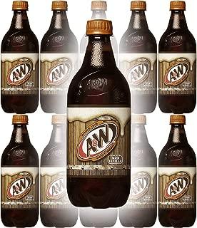 A&W Root Beer, 20 Fl Oz Can, (Pack of 10, Total of 200 Fl Oz)