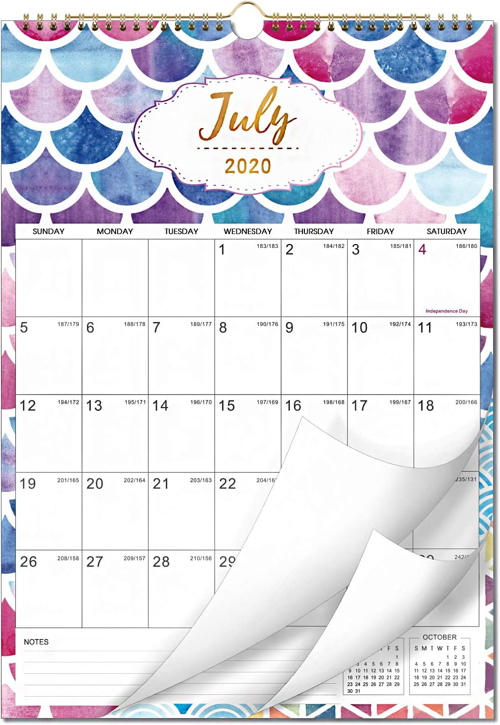 Calendar 2021-2022 - 18 Monthly Wall 12