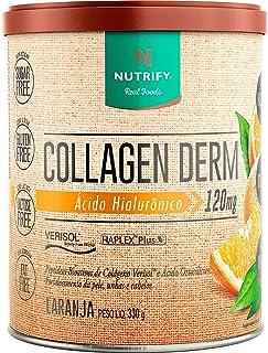 Collagen Derm Hialurônico - 330G Laranja, Nutrify, multi-colored, Tamanho único