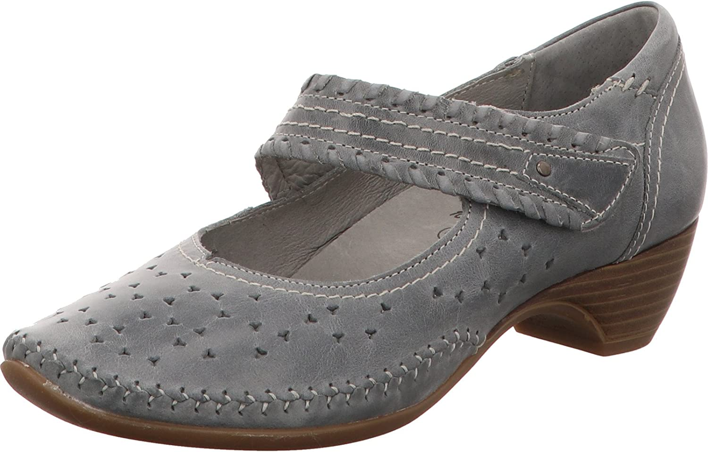 Jana Damen Pumps Woms Slip-on 8-8-24310-20 200 grau 428032    Eleganter Stil