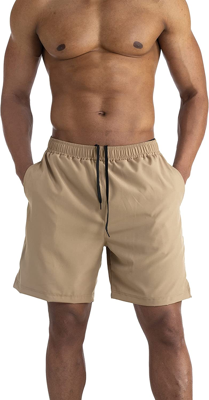 AITLGINVEN Men's online shop 2 in 1 Running Gym Workout Shor Athletic Shorts Sale