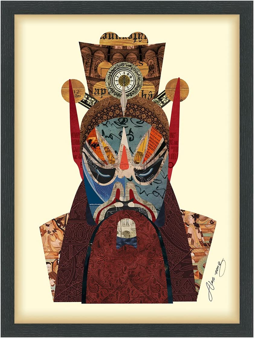 Empire Art Direct Beijing Opera Ranking integrated 1st place Hand Mask Collage #2 Dimensional trend rank
