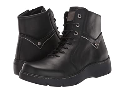 Wolky Daydream (Black Vegi Leather) Women