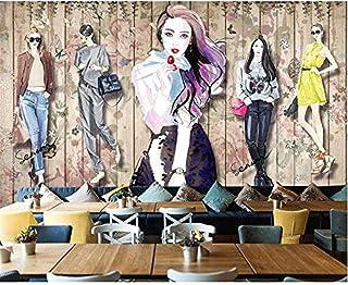 Fondos de pantalla Vintage Hecho a mano Ropa de belleza Aparador Fondo Pared Fondo decorativo Mural Pared Pintado Papel ta...