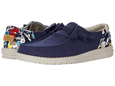 Hey Dude Wendy Funk (Chambray Navy) Women
