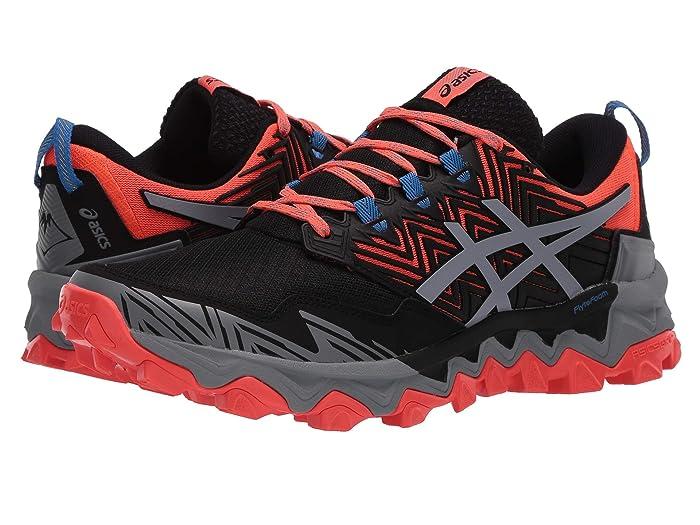 ASICS  GEL-Fujitrabuco 8 (Flash Coral/Sheet Rock) Womens Running Shoes