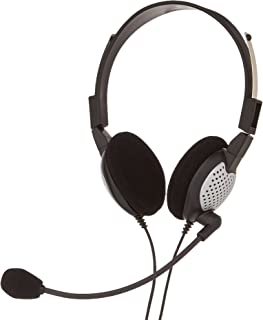 Andrea Electronics C1-1022600-1 model NC-185 VM USB High Fidelity Stereo USB Computer Headset with Noise Canceling Microphone and Volume/Mute Controls