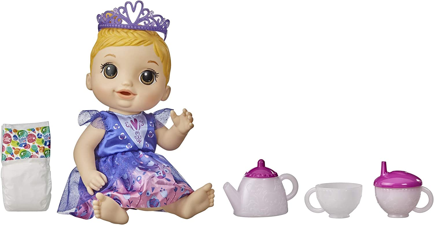 Baby Topics on TV Alive Tea n Sparkles Color-Changing Doll Houston Mall H Blonde Set