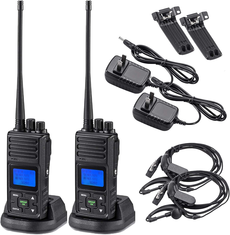 2 Way Radio 5 Popularity Watt Long SAMCOM Channels Programmable 20 Max 86% OFF W Range