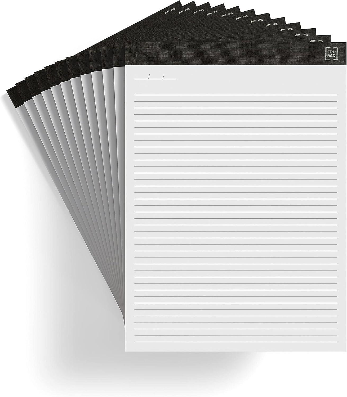 TRU Philadelphia Mall RED TR57384 Notepads 8.5-Inch x W Price reduction Narrow Ruled 11.75-Inch