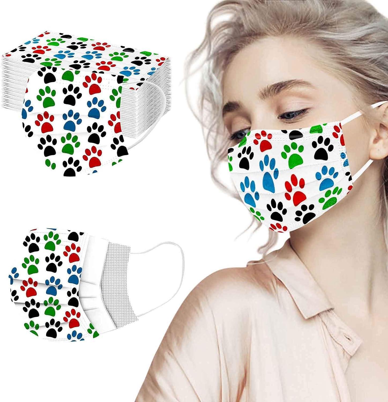 Unisex Adultos Bufanda 21208 Moda Lindo Animal Print Suave el/ástico Earloop Bufanda para Mujeres Hombres