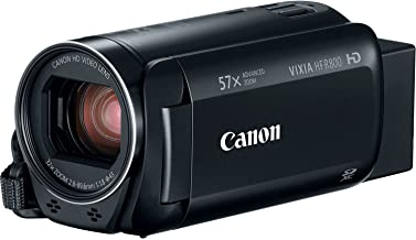 Canon VIXIA HF R800 Full HD Camcorder with 57x Advanced Zoom, 1080P Video and 3