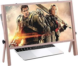 Laptop Screen Magnifier 21 Inch, 3D Computer Screen Enlarger For Laptop Ultra-clear Extension Bracket, Portable Folding Pr...