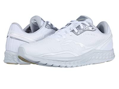 Saucony Kinvara 11 (White/Grey) Men