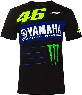 Valentino Rossi T Shirt VR46 MotoGP M1 Power Line Logo Yamaha Offiziell 2020