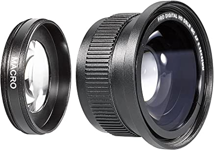 Neewer® 52MM 0.35X High Definition II Wide Angle Macro Fisheye Lens for NIKON D5300 D5200 D5100 D3300 D3200 D3000 D7000 DSLR Cameras