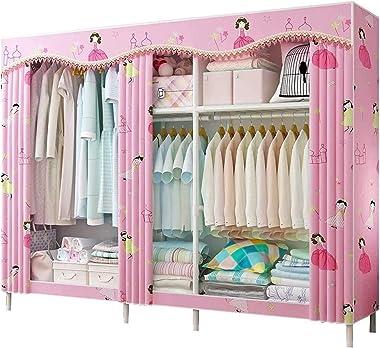 Combination Combination Wardrobe Portable Clothes Closet Armoire Wardrobe Storage Cabinet Hang Clothes Wardrobe Organiser 200