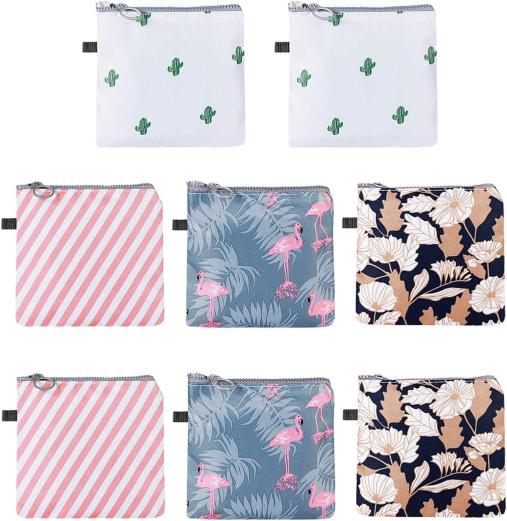HEALLILY 8pcs Latest item Sanitary Pads Special Campaign Napkin Menstrua Bag Storage