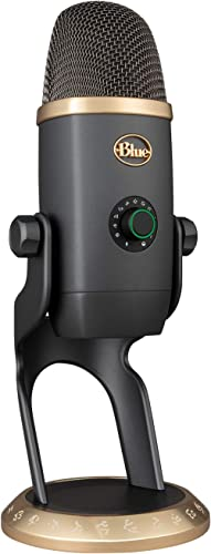 Blue Yeti X Micrófono Profesional de Condensador USB, Medición de Alta Resolución para Grabación, Streaming, Gaming, ...