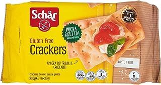 Schar Crackers senza Glutine - Confezione da 6 x 35 gr