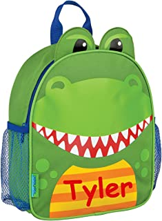 Stephen Joseph Personalized Little Boys' Mini Sidekick Dinosaur Backpack With Name
