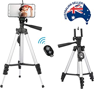 SGE Smart Phone Tripod, Multifunctional, Phones & Cameras, Lightweight, Compact, Comes with Integrated Wireless Controller.