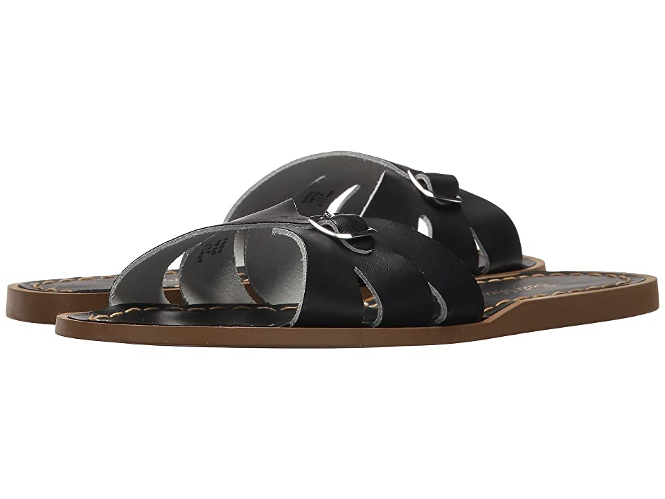 Salt Water Sandal by Hoy Shoes Classic Slide (Big Kid/Adult) (Black) Girls Shoes