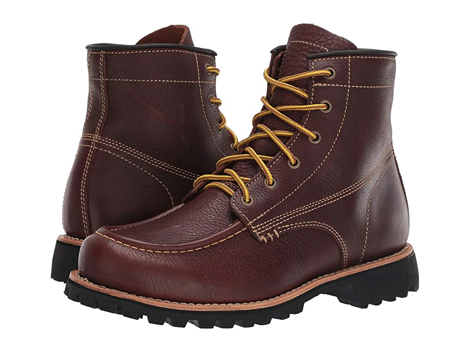 Georgia Boot Small Batch 6 Moc Toe (Brown) Men
