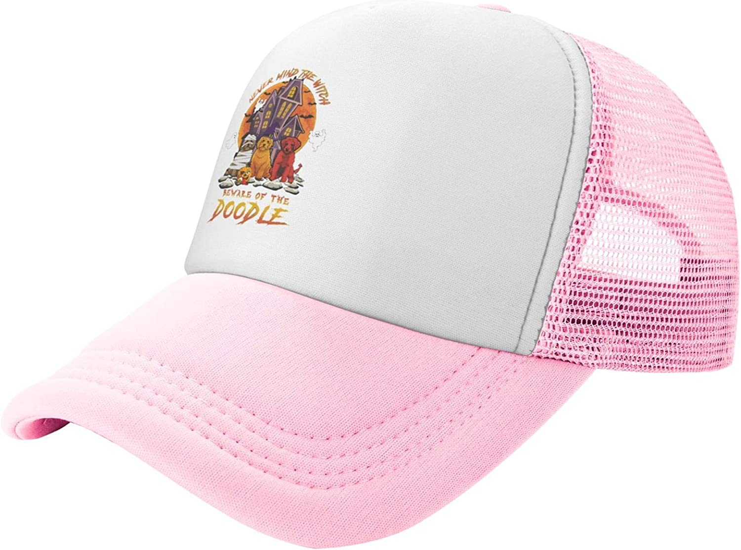 Myshe Summer Mesh Baseball Cap Never Beware Mind Witch Fort Max 47% OFF Worth Mall Do The of