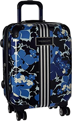 "Floral 21"" Upright Suitcase"
