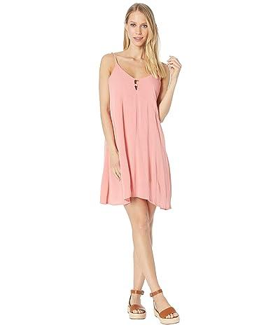 Roxy Full Bloom Woven Tank Dress (Lantana) Women
